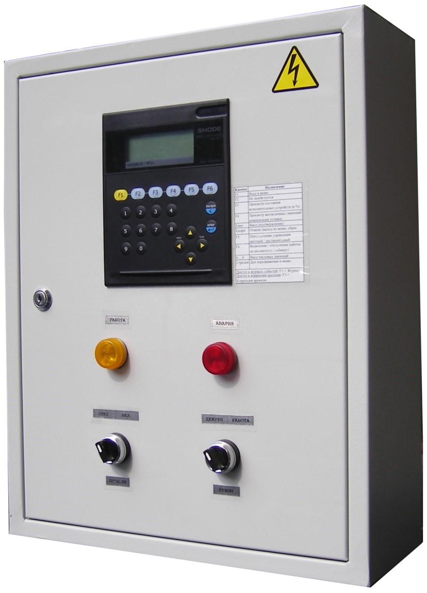 Щит управления насосом TankCP-380-1x0,75-DL-II-1-RTC